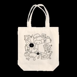 Illustrator イシグロフミカのBOOKCATCOFFEE Tote bags