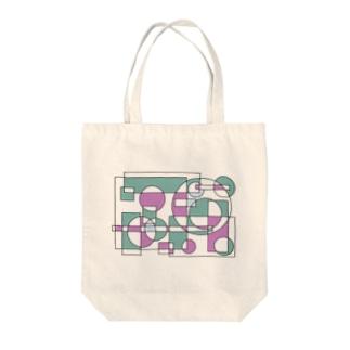 幾何学 Tote bags