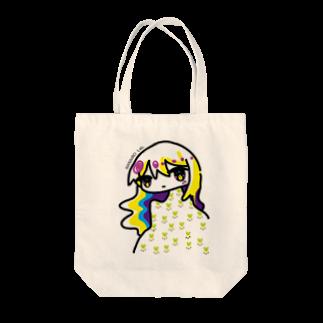 なないろLab.のテストちゃん Tote bags