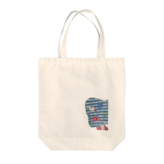inside outside color2 Tote bags
