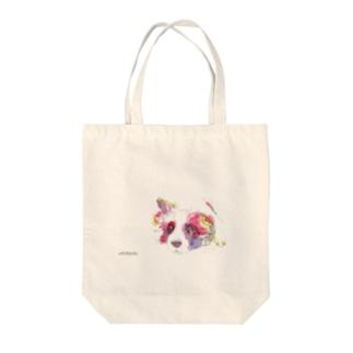 イヌ_dog.1_watercolor Tote bags