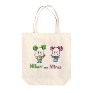 Hikari and Mirai Tote bags