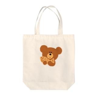 kiboriくま Tote bags