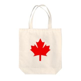 カナダ Tote bags