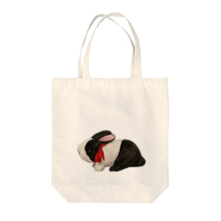 うさ縫いモーちゃん Tote bags