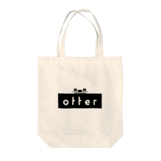 OTTER ロゴ Tote bags