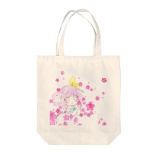 Yunomi「おはな」 Tote bags