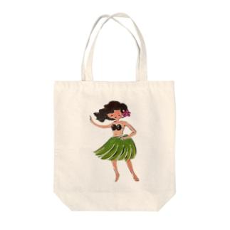フラ★ガール Tote bags
