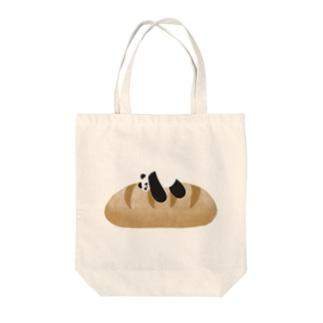 パンパンダのひと休み Tote bags