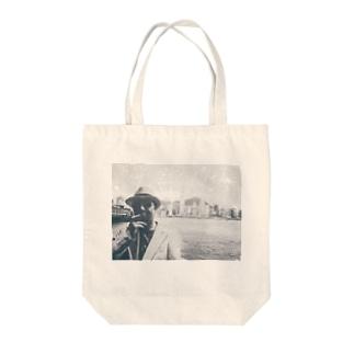 香港マフィア Tote bags