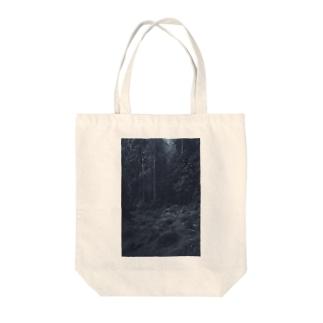 もり Tote bags