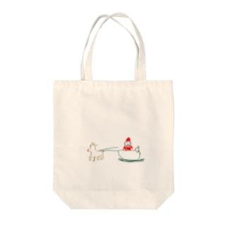 クリスマストート Tote bags