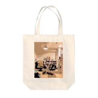 Igokochi Tote bags