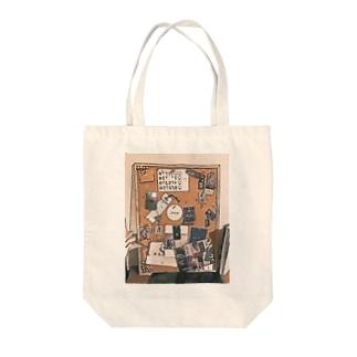 デザインボード Tote bags