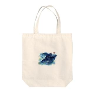 ヨゾラ・ベールテール Tote bags