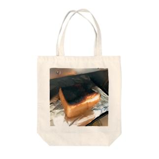焦げパン Tote bags