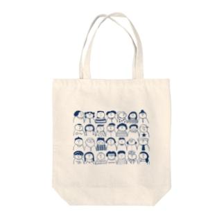 いつも会う人またはどこかで会った人々 Tote bags