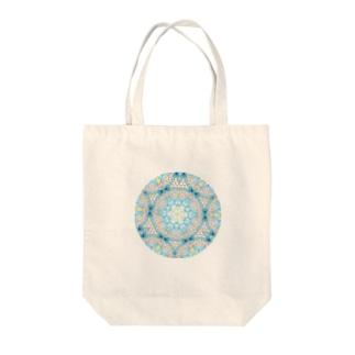 ハナガサクラゲ万華鏡 Tote bags