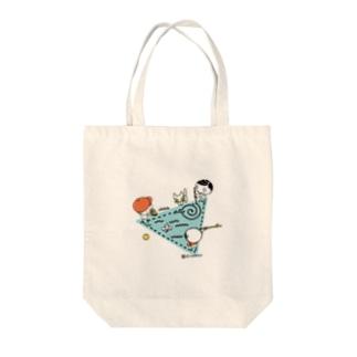 子どもの遊び(トライアングル) Tote bags