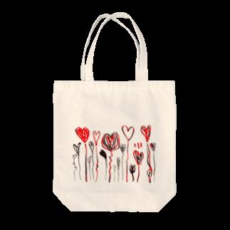 OMENYAのハートがいっぱい Tote bags