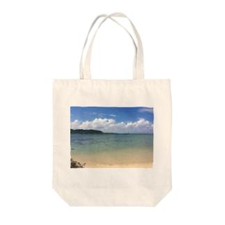 竹富島の海 Tote bags