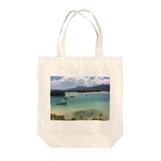 川平湾 Tote bags