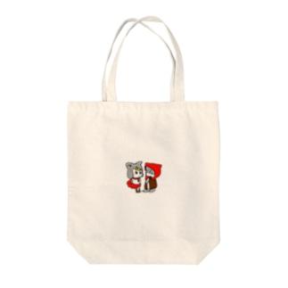 赤ずきんとおおかみ Tote bags