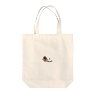 うんち犬のマーキング Tote bags