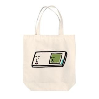 キャラNo.57プレパラートくん(スライドガラスとカバーガラスくん) Tote bags