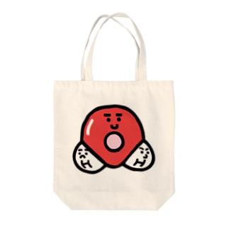 キャラNo. 37H2O分子模型くん  Tote bags
