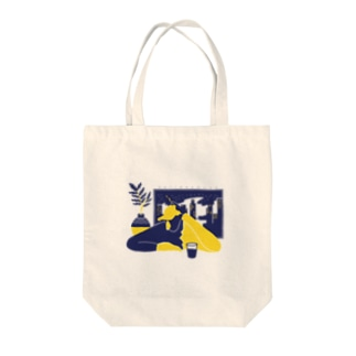 city night Tote bags