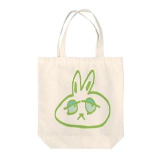 嘘田ぴょん吉 Tote bags