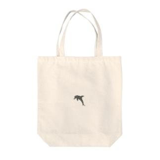 シンプルデザイン:ワンポイント Tote bags