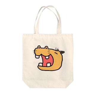 きいろいかば Tote bags