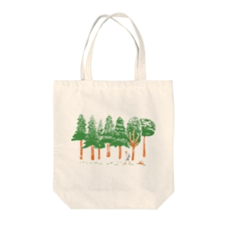 森の中 Tote bags