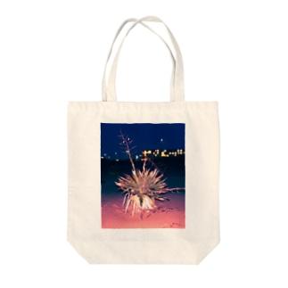 海辺の植物 Tote bags