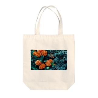 色違いアジサイ Tote bags