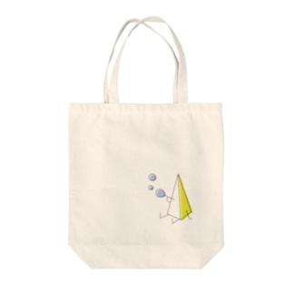 さんかくん Tote bags