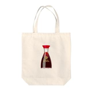 お醤油さん Tote bags