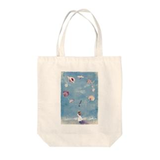 海からの贈り物 Tote bags