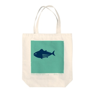 【hitocoto】マグロ Tote bags