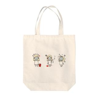 ミミー the トリオ Tote bags