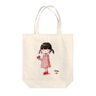 ごまみちゃん Tote bags