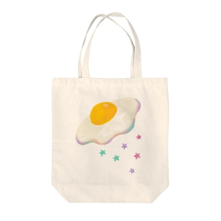 空飛ぶめだまやき - Flying Fried Egg Tote bags