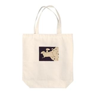 おやすみひつじ Tote bags