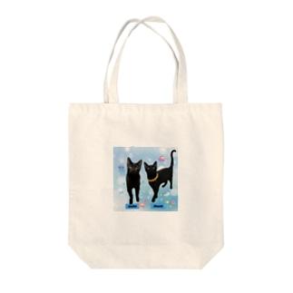 あんずさく親子 Tote bags