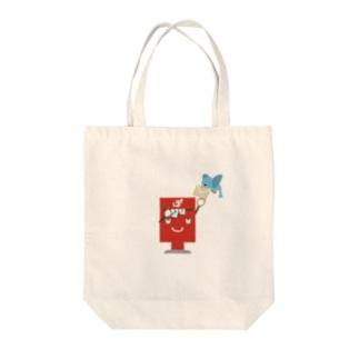 ぽすとのぽすた【あかえほ公式】  Tote bags