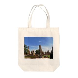 晴天のアユタヤ Tote bags
