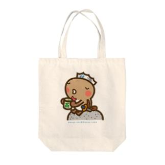 邑南町ゆるキャラ:オオナン・ショウ『ティーブレイク』 Tote bags