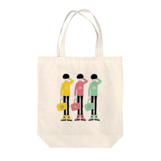 マッシュ男子 Tote bags